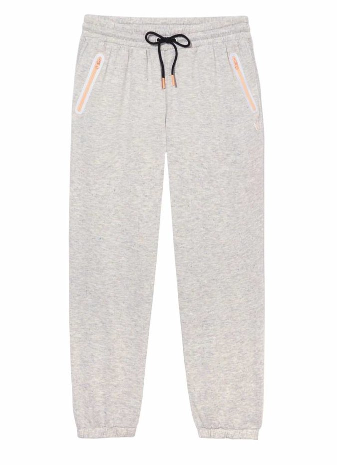Mink Pink Move Super Duper Sweat Pants in Grey Marle