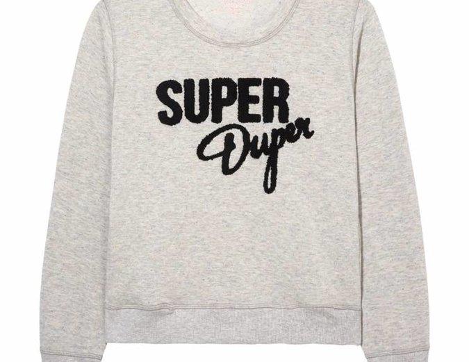 Mink Pink Move Super Duper Jumper in Grey Marle