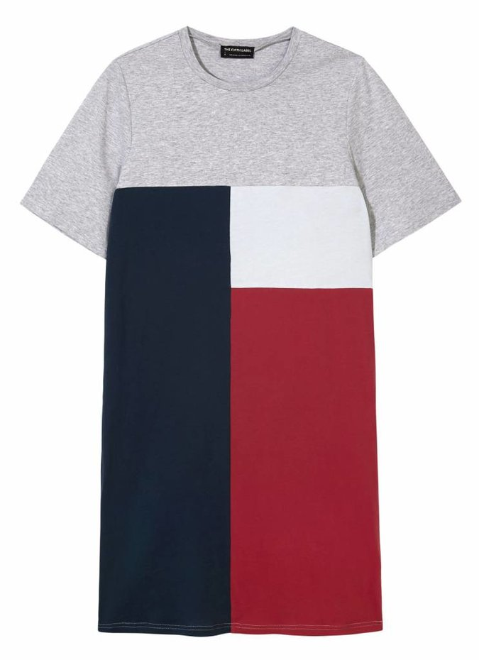 The Fifth Label Up and Away Dress Colour Block