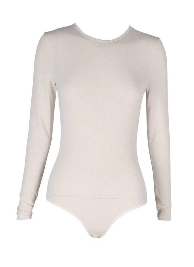 Mink Pink Long Sleeve Bodysuit