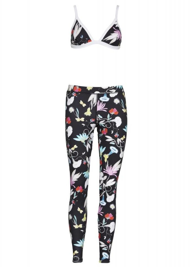 Seafolly Flower Festival Scuba Swim Legging