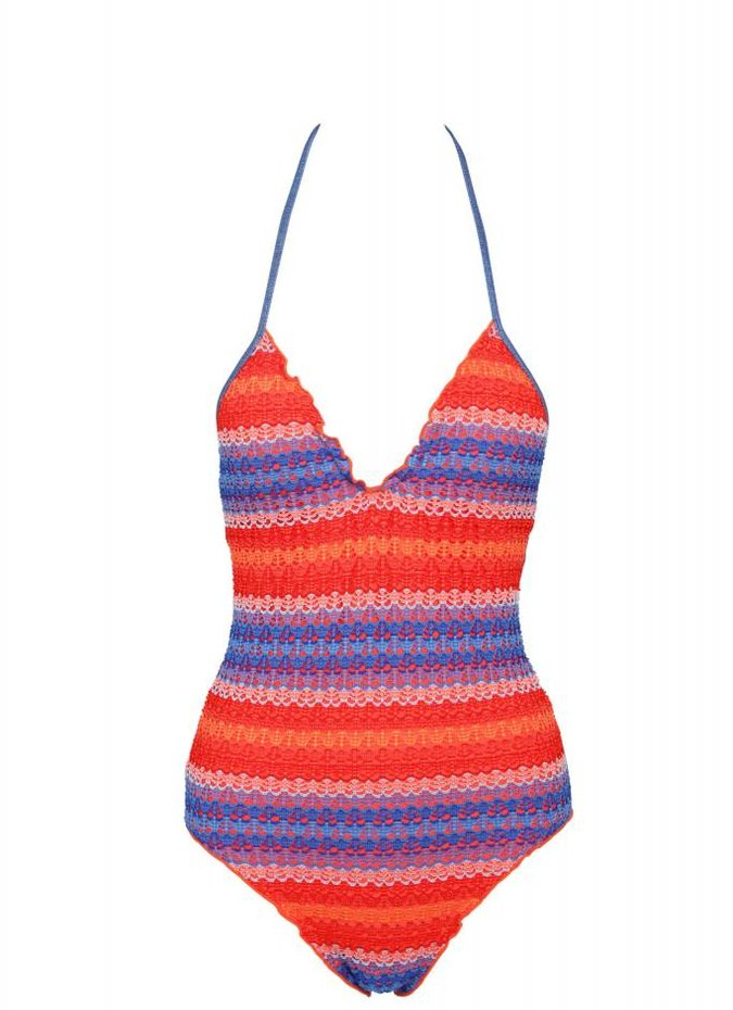 Seafolly Havana Stripe One Piece Swimsuit