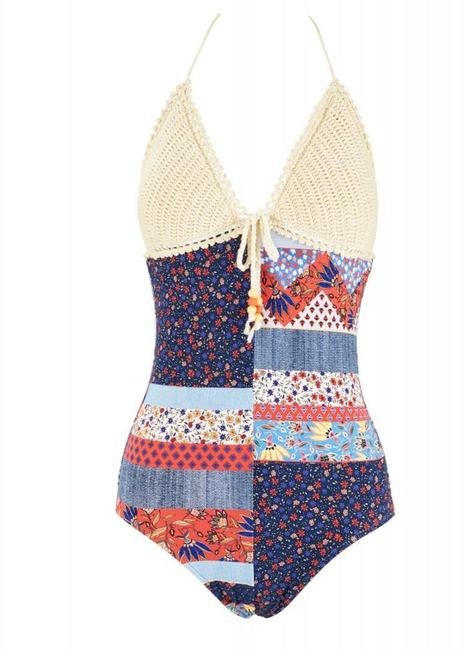 Seafolly Caribbean Kool One Piece Swimsuit