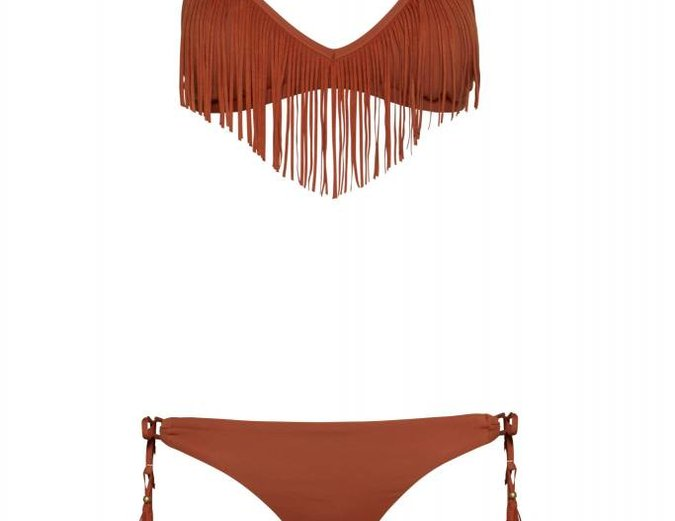 Seafolly Coastal Fringe Bralette Bikini Top