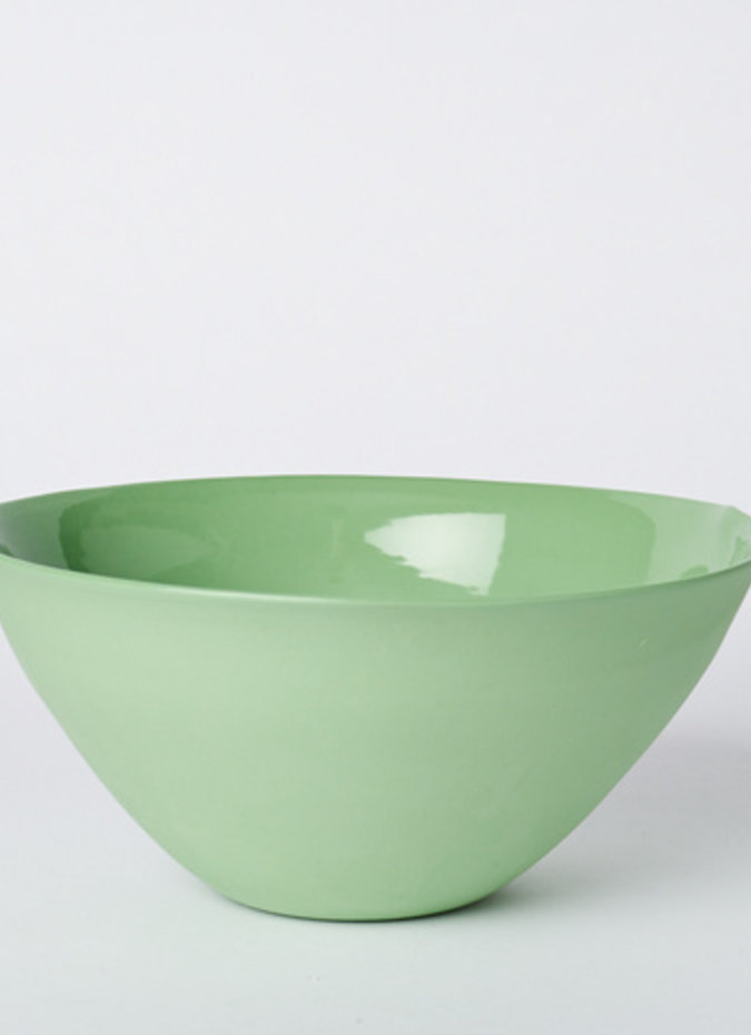 MUD Flared Bowl Wasabi Large