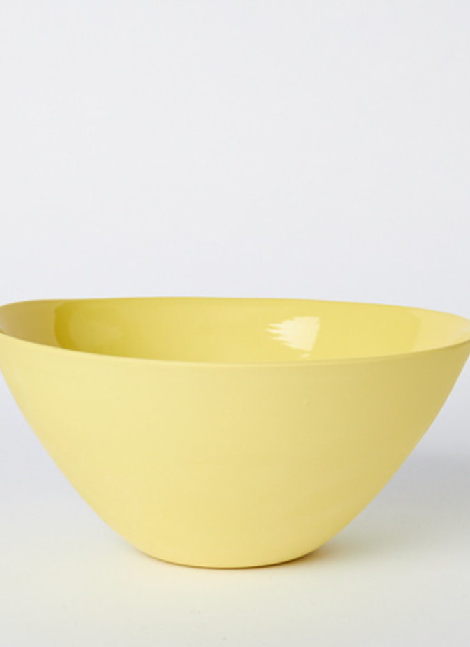 MUD Flared Bowl Yellow Large