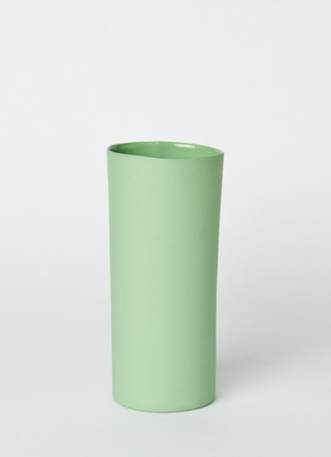 MUD Vase Round Medium Wasabi