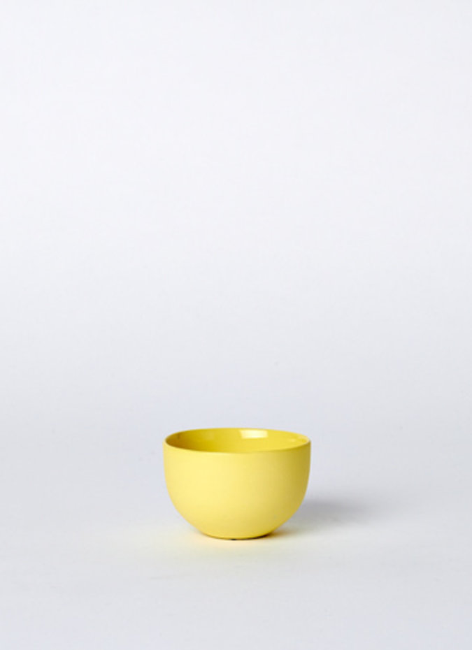 MUD Mini Cup Round Yellow OS