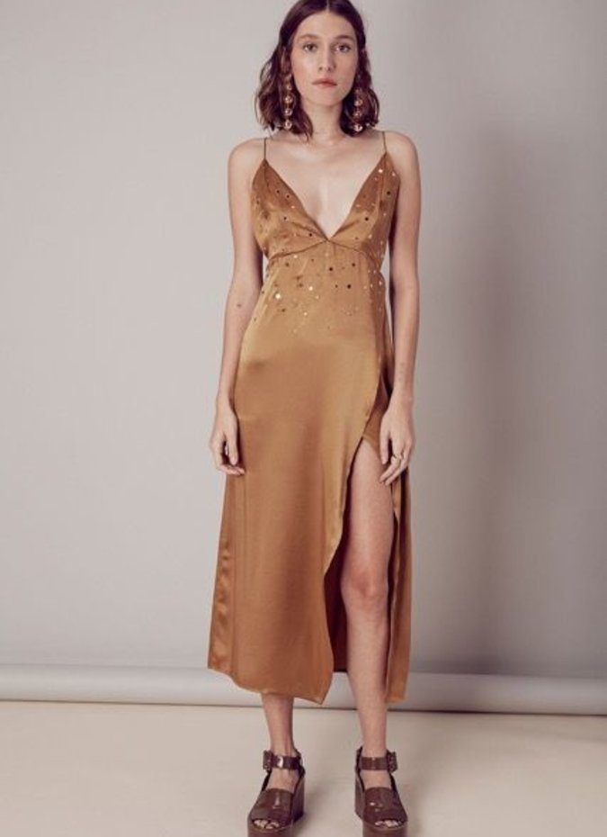 For Love & Lemons Twinkle Midi Dress