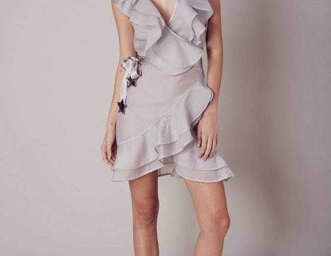 For Love & Lemons Bowie Star Organza Dress