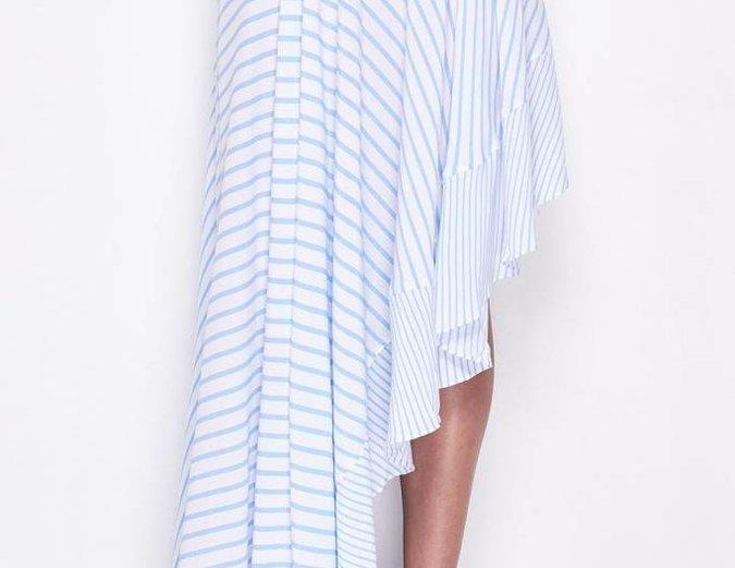 MLM Label Boston Skirt - Blue Stripe