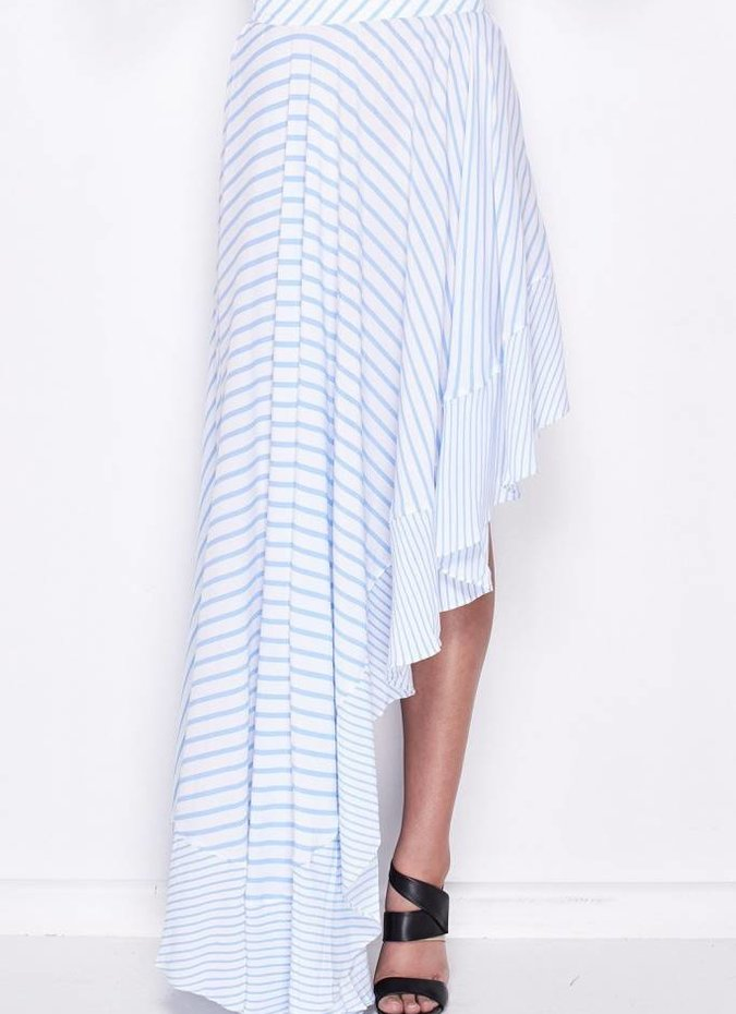 MLM Label Boston Skirt - Blue Stripe