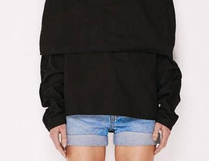 MLM Label Storm Shoulder Top - Black