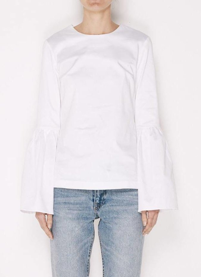 MLM Label Rhodes Top - White