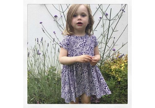 JABA Jaba Kids Thea Dress in Leopard