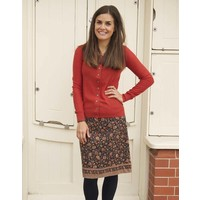 JABA Lora Skirt - Indian Orange