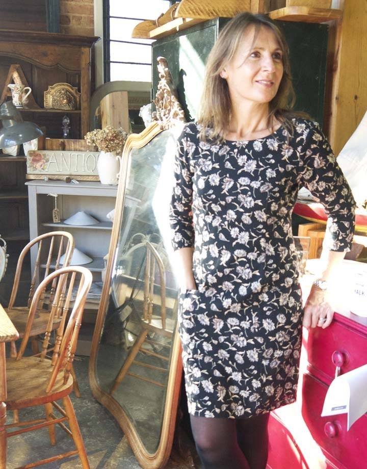 JABA Jaba Sadie Dress in Cornflower