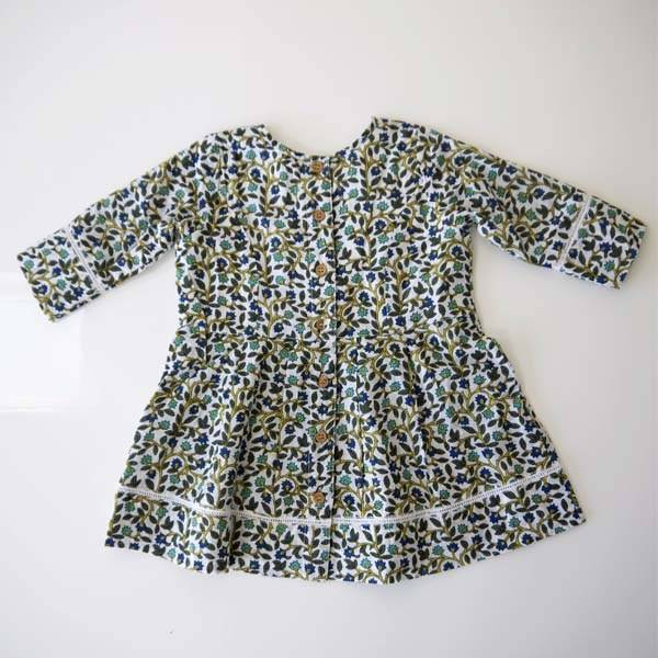 JABA JabaKids Rosie Dress in Buti Print