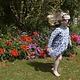 JABA JabaKids Rosie Dress in Tile Print