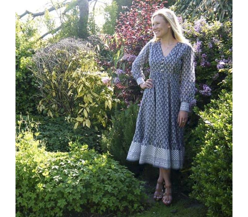 Jaba Freya Dress in Grey