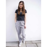 JABA Ellie Trousers in Grey Leopard