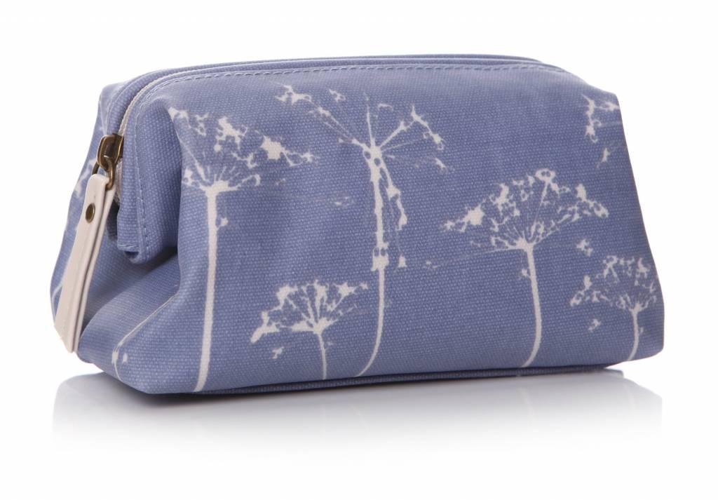 SHRUTI Prairie Cosmet Bag - Blue