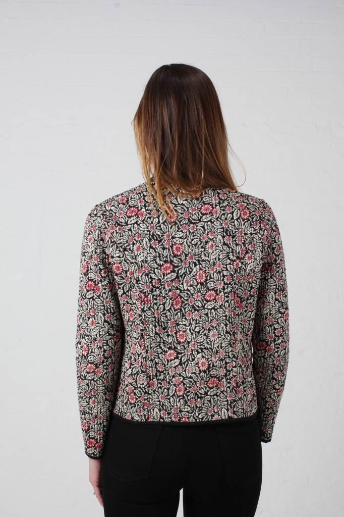 JABA JABA Reversible Jacket in Spot Print