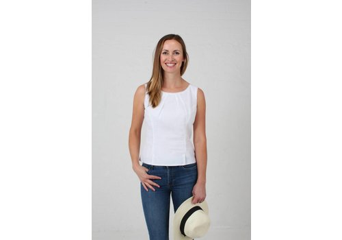 JABA JABA Leila Top in White