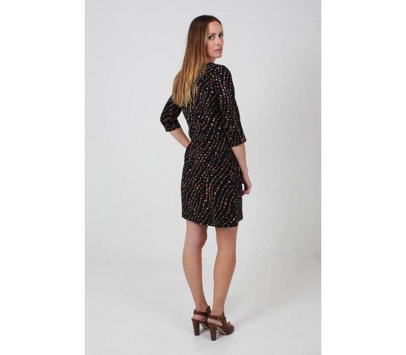 JABA Sadie Dress in Spot Print