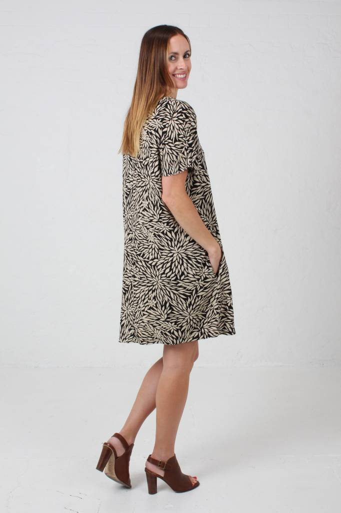 JABA JABA Etta Dress in  Anemone Print