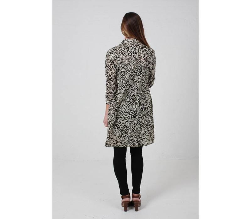 JABA Leonie Shirt Dress in Anemone