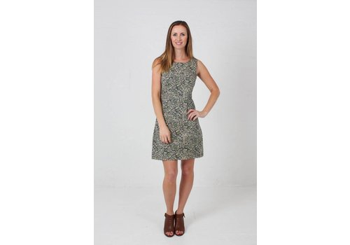 JABA JABA Nicole Dress - Wild Flower Green -