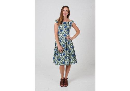 JABA JABA Lydia Dress in Nouveau Flower
