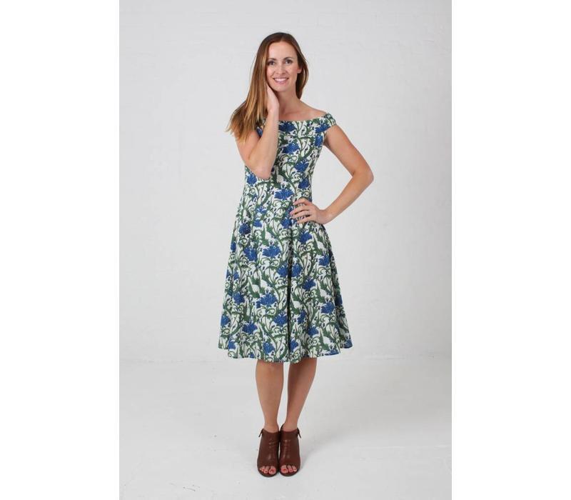 JABA Lydia Dress in Nouveau Flower