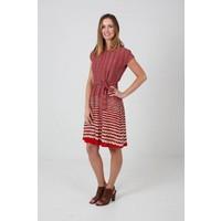 JABA Rope Dress in Red