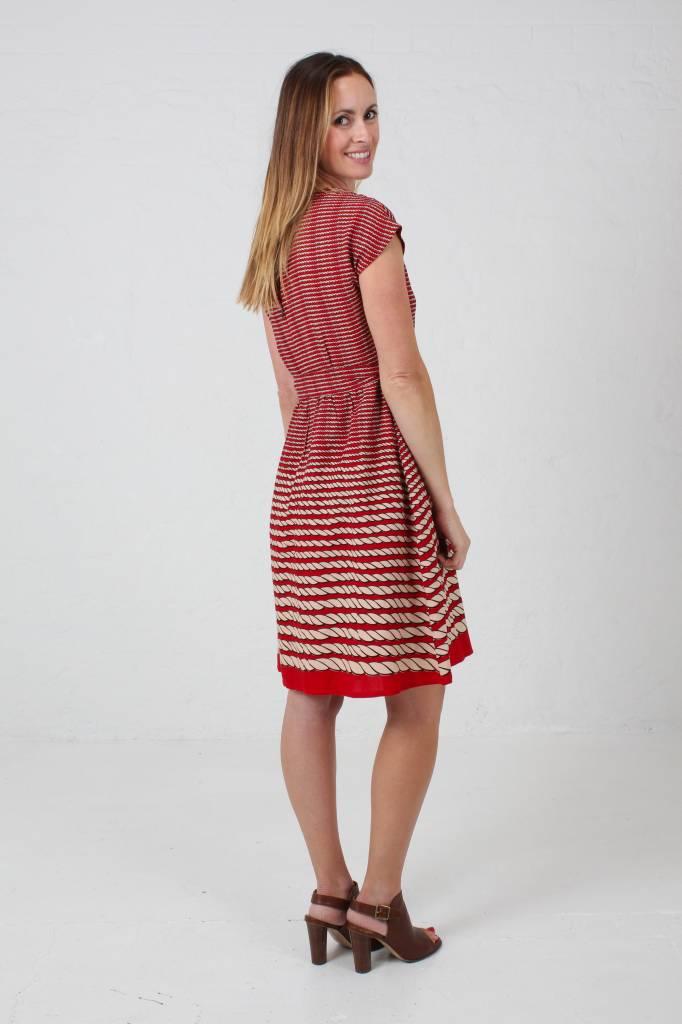JABA JABA Rope Dress in Red