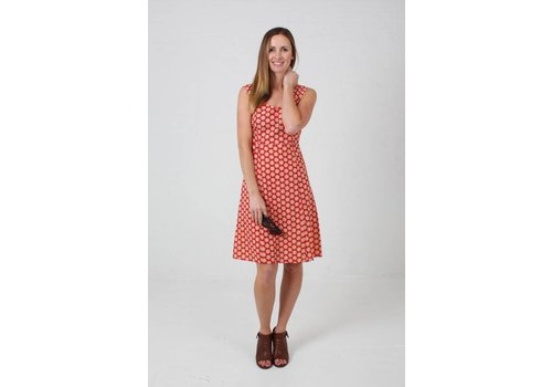 JABA JABA Sun Dress in Cog Red