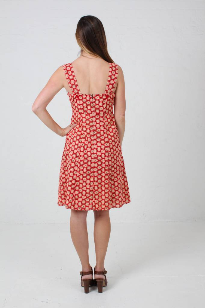 JABA JABA Sun Dress in Cog Red
