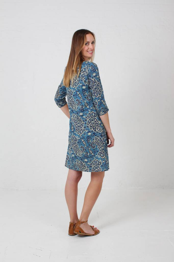JABA JABA Summer Kurta in Large Paisley