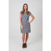 JABA Camile Dress in Navy Bindi