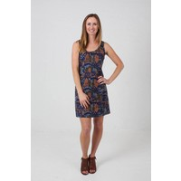 JABA Jenna Dress in  Abstract Print