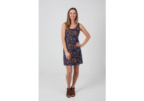 JABA JABA Jenna Dress in Abstract Print