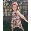 JABA Jaba Kids Amelie Dress in Birds of Paradise