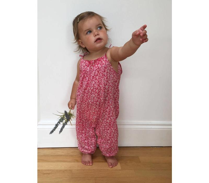 Jaba KIDS Isla Playsuit in Ditsy Pink