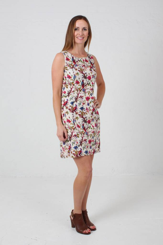 JABA JABA Nicole Dress in Bird of Paradise Print