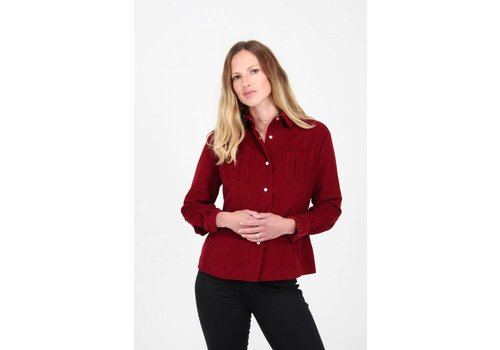 JABA Jaba Leonie Shirt in Red PinCord