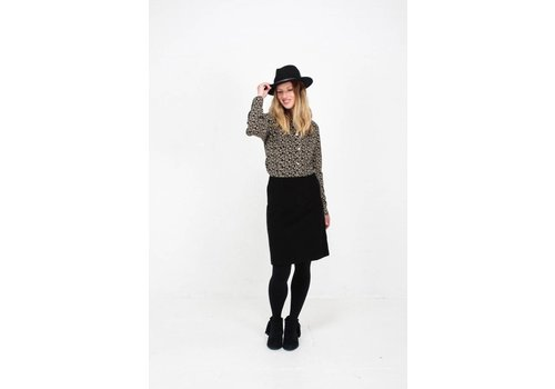 JABA Jaba Leonie Shirt in Winter Black
