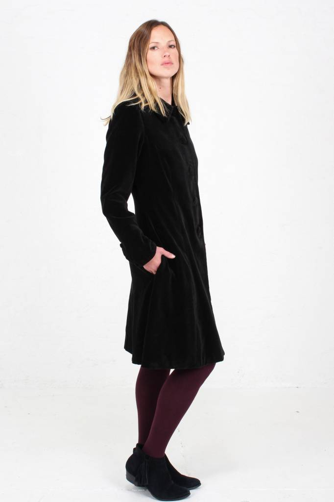 JABA Jaba Black Velvet Coat