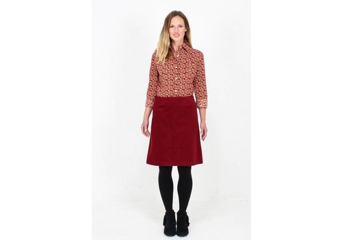 JABA Jaba Lora Skirt in Red Cord