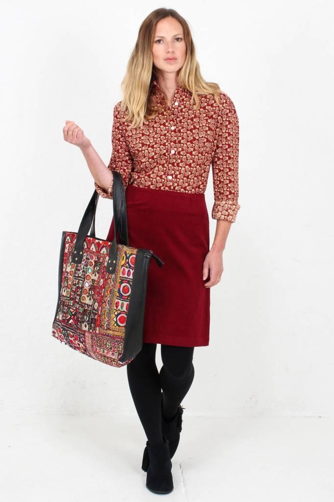 JABA Jaba Lora Skirt in Red Cord